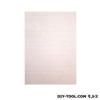 壁紙(クロス)の上から簡単に貼れる壁紙シール ホワイトブロック W46.5×H250cm KABE-05