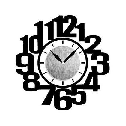 Wall Clock Sticker ウォールクロックステッカー ナンバー 時計/約幅10×高さ10(cm)ステッカー/約29×41(cm) WC-N