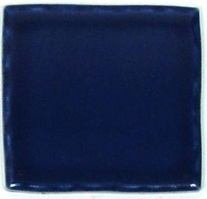 色つき無地プレインタイル コバルトブルー 約97×97×7mm PT-010