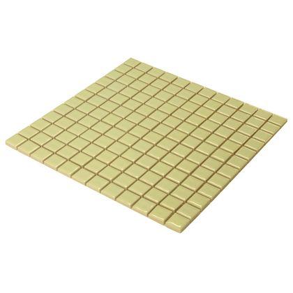 モザイクタイルシート 裏ネット張り ライトグリーン 22.5角300×300mm 8655500 10 枚