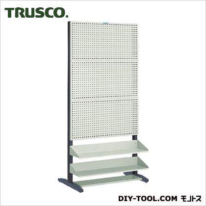 【送料無料】トラスコ(TRUSCO) UPR型パンチングラック棚板付両面 UPR-6004