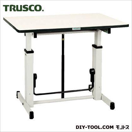 トラスコ(TRUSCO) アップダウン作業台900X600XH730-980 UP-900 1S