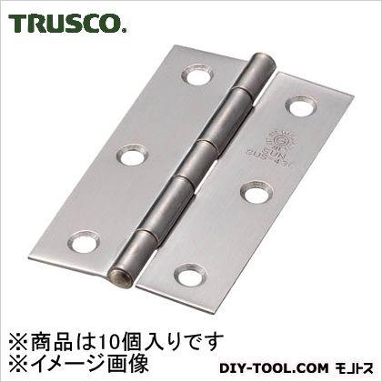 ステンレス製中厚蝶番全長64mm(10個入)   ST-999-64HL 10 個