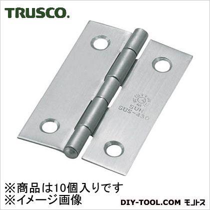 ステンレス製中厚蝶番全長51mm(10個入)   ST-999-51HL 10 個