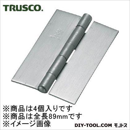 ステンレス製厚口溶接蝶番全長89mm(4個入)   ST-888W-89HL 4 個