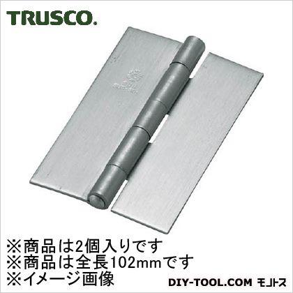 ステンレス製厚口溶接蝶番全長102mm(2個入)   ST-888W-102HL 2 個