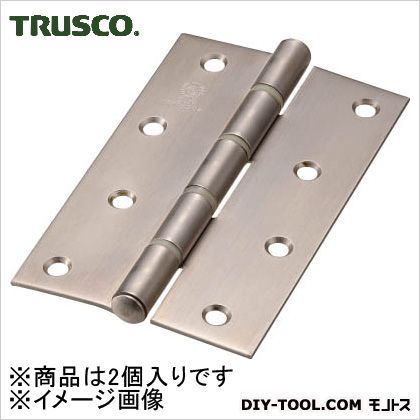 ステンレス製厚口蝶番ナイロンリング入全長127mm(2個入)   ST-888NR-127HL 2 個