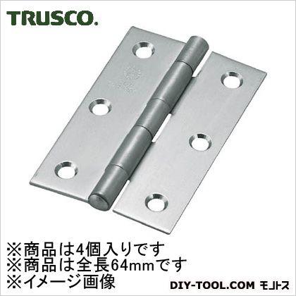 ステンレス製厚口蝶番全長64mm(4個入)   ST-888-64HL 4 個