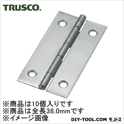 ステンレス製薄口蝶番全長38.0mm(10個入)   ST-550-38 10 個