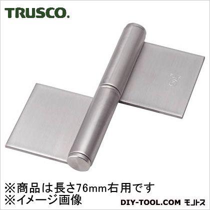 ステンレス製特厚溶接旗蝶番右用全長76mm(2個入)   ST-2000W-76R 2 個