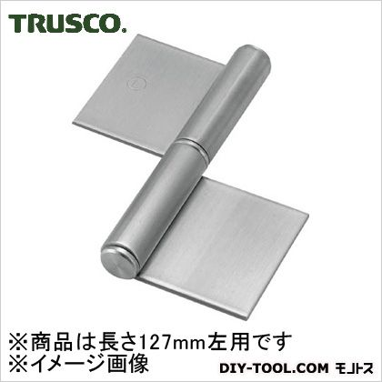 ステンレス製特厚溶接旗蝶番左用全長127mm(1個入)   ST-2000W-127L 1 個