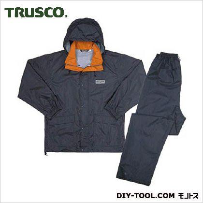 トラスコ(TRUSCO) プロセーフティレインスーツダークグレーL L SRS-75