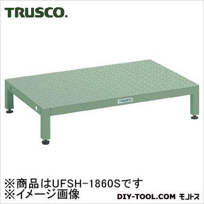 トラスコ(TRUSCO) 高床用縞鋼板ステップ1800X600XH190~220 UFSH-1860S