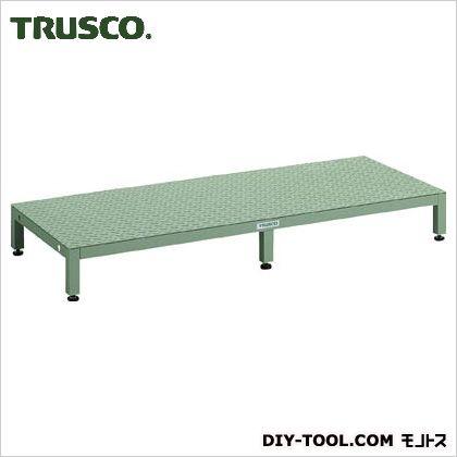 トラスコ(TRUSCO) 高床用縞鋼板ステップ1500X600XH190~220 UFSH-1560S