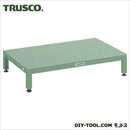 トラスコ(TRUSCO) 高床用縞鋼板ステップ1200X600XH190~220 UFSH-1260S