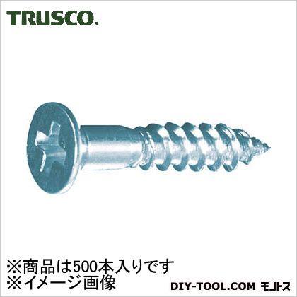 TRUSCO 皿木ねじユニクロムM2.4X13 500本入 B11-2413 500 本