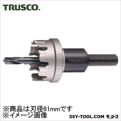 【送料無料】トラスコ(TRUSCO) 超硬ステンレスホールカッター61mm 137 x 82 x 72 mm TTG61 1