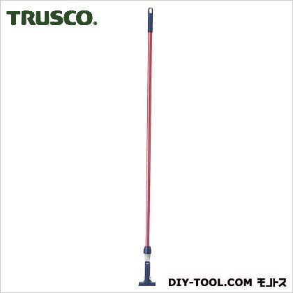 トラスコ(TRUSCO) ヘッド交換式ハンドル(カラータイプ) 赤 K-HAN-R