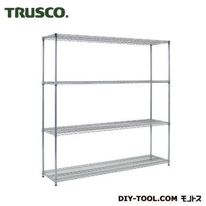 【送料無料】トラスコ(TRUSCO) スチール製メッシュラックW1824XD457XH18384段 TME6644