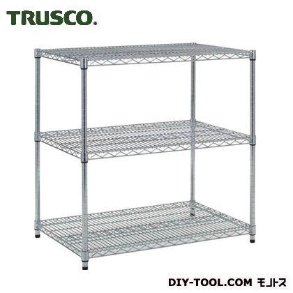 【送料無料】トラスコ(TRUSCO) スチール製メッシュラックW905XD609XH9233段 TME-3363
