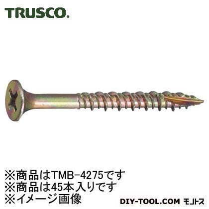 トラスコ(TRUSCO) 内装用木工ビスM4.2X7545本入 136 x 71 x 31 mm 45本