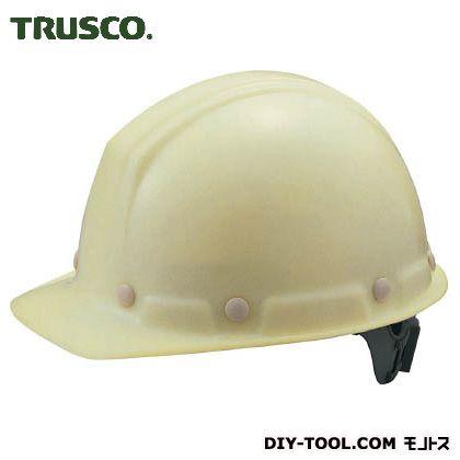 トラスコ(TRUSCO) ヘルメット溝付前ひさし型蓄光タイプ 285 x 225 x 175 mm