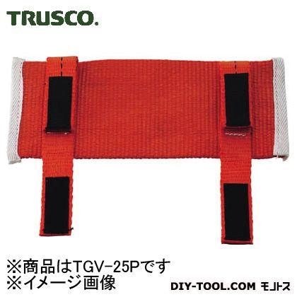 トラスコ(TRUSCO) ベルト荷締機25mm用プロテクター幅75mmX全長200mm TGV-25P