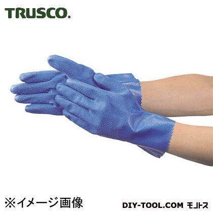 トラスコ(TRUSCO) 耐油・耐薬品ニトリル厚手手袋Mサイズ TGN-M