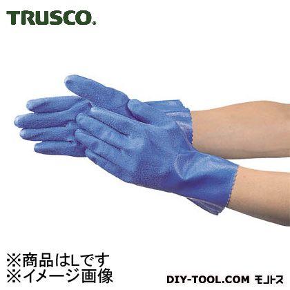 トラスコ(TRUSCO) 耐油・耐薬品ニトリル厚手手袋Lサイズ TGN-L