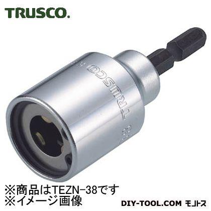 トラスコ(TRUSCO) 電動ドライバーソケット全ネジ適応ネジ径W3/8 147 x 47 x 28 mm TEZN-38