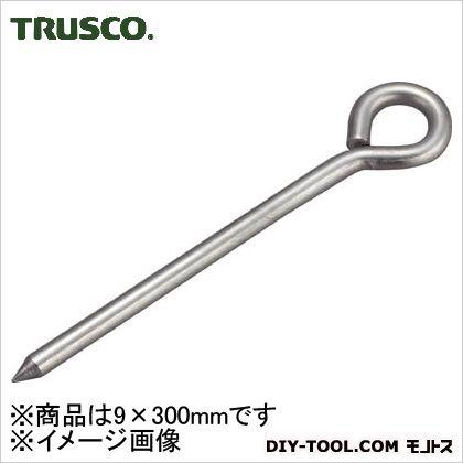トラスコ(TRUSCO) ステンレス打ち込み棒丸型9×300mm TUM-S930