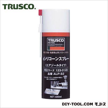 トラスコ(TRUSCO) αシリコーンスプレー420ml ALP-S2