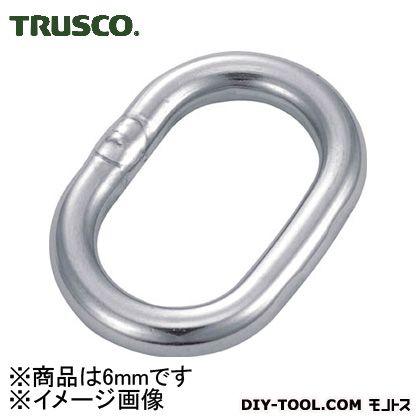 トラスコ(TRUSCO) 楕円リンクステンレス製6mm1個入 TOL-6 1個