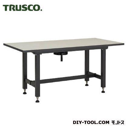トラスコ(TRUSCO) ハンドル昇降式作業台1500X750XH700-900 1520 x 770 x 800 mm
