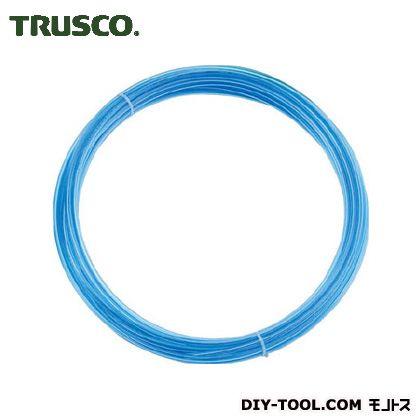 ポリウレタンチューブ4X2.5mm10m巻透明青 CBL  TEN-4X2.5-10