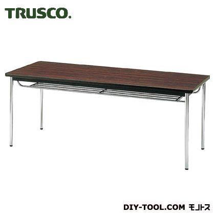 【送料無料】TRUSCO 会議用テーブル1800X750XH700丸脚ローズ RO  TDS-1875T  便利グッズ(文具・OA機器)文具・OA機器