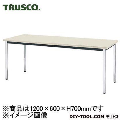 【送料無料】TRUSCO 会議用テーブル1200X600X700角脚下棚無しネオグレ NG  TDS-1260  便利グッズ(文具・OA機器)文具・OA機器