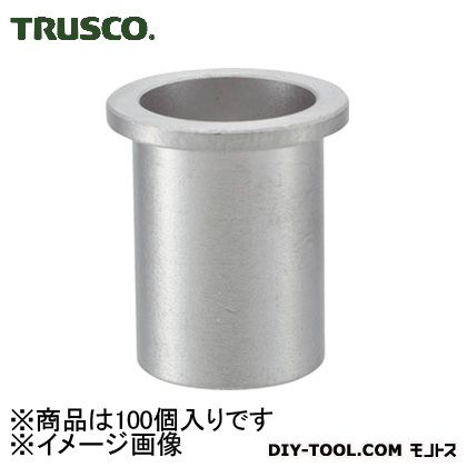 【送料無料】トラスコ(TRUSCO) クリンプナット平頭ステンレス板厚2.5M4X0.7100個入 159 x 92 x 44 mm TBN-4M25SS-C 100個