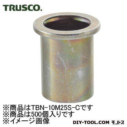 【送料無料】トラスコ(TRUSCO) クリンプナット平頭スチール板厚2.5M10X1.5500個入 249 x 164 x 82 mm TBN-10M25S-C 500個