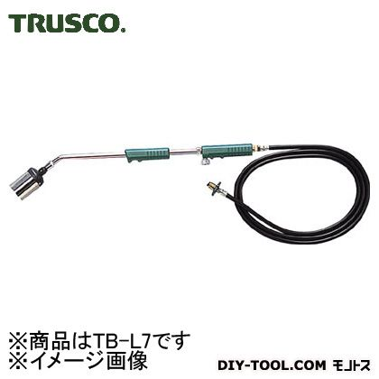 【送料無料】トラスコ(TRUSCO) プロパンバーナーホース3M付火口径7号 870 x 170 x 90 mm TB-L7 1S