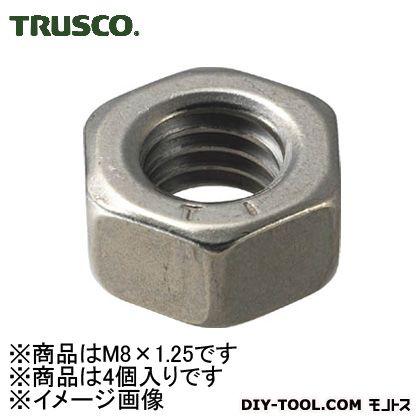 トラスコ(TRUSCO) 六角ナット1種チタン強度Ti2サイズM8X1.254個入 100 x 55 x 20 mm 4個