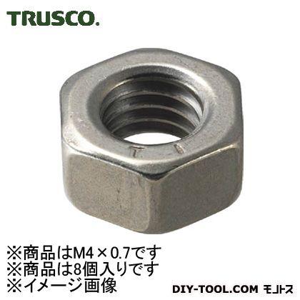 トラスコ(TRUSCO) 六角ナット1種チタン強度Ti2サイズM4X0.78個入 100 x 55 x 20 mm 8個