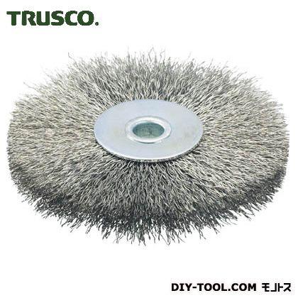 トラスコ(TRUSCO) ホイルブラシ100X10mm穴ステンレス線線径0.3 113 x 112 x 22 mm TB-6353
