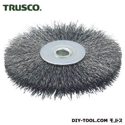 トラスコ(TRUSCO) ホイルブラシ100X10mm穴鋼線線径0.3 113 x 111 x 23 mm TB-6352