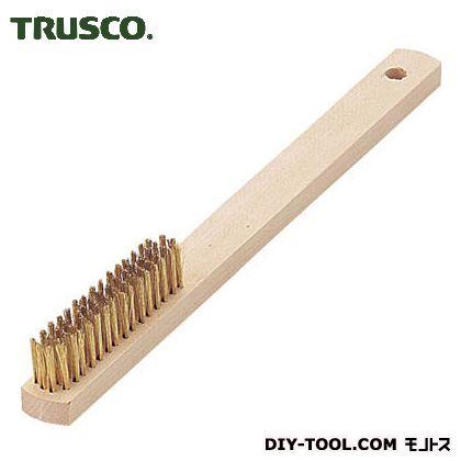 木柄真鍮ブラシ4行真鍮   TB-5008-10