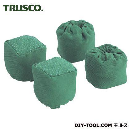 トラスコ(TRUSCO) 踏台用脚カバ-滑り止め付 160 x 155 x 59 mm 4個