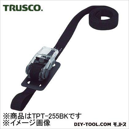 樹脂製ベルト荷締機 黒 25mm×5m TPT255BK