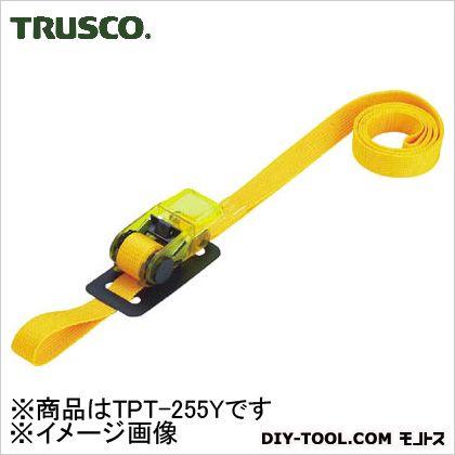 樹脂製ベルト荷締機 黄 25mm×5m TPT255Y
