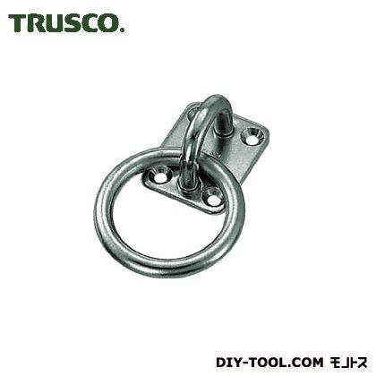 トラスコ(TRUSCO) 丸カンプレートステンレス製5mm(1個=1袋) 124 x 52 x 27 mm 1個