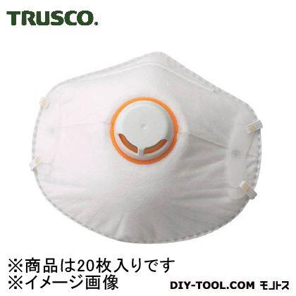 トラスコ(TRUSCO) 一般作業用マスク活性炭入排気弁付(10枚入) TMK-10KV 10枚